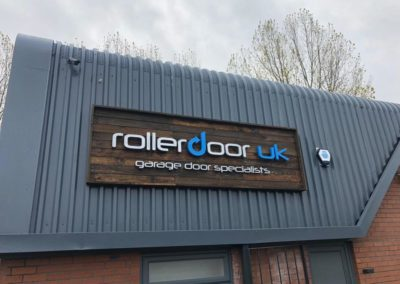 New Signage for Roller Door UK