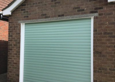 55mm Chartwell Green Insulated Roller Door